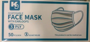 Disposable Face Masks (Box of 50)